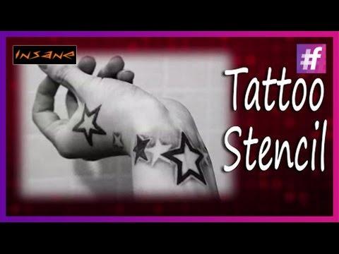 how-to-make-tattoo-stencils-|-tattoo-basics-|-star-tattoo-design