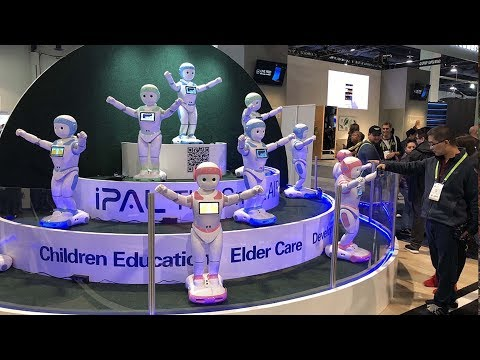 Chinese companies wow the crowd at the 2018 CES