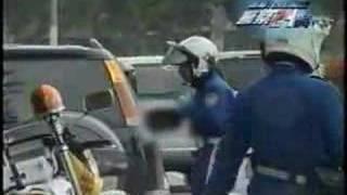 兵庫県警交通機動隊女性白バイその3