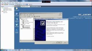 Hướng dẫn cấu hình cơ bản bài kiểm tra môn Hệ điều hành win server 2003