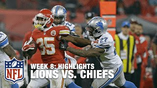 Lions vs. Chiefs | Week 8 Highlights | NFL in London