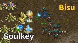 Bisu (P) vs Soulkey (Z) - Cómo ganar bajo presión 😎 - Starcraft remastered