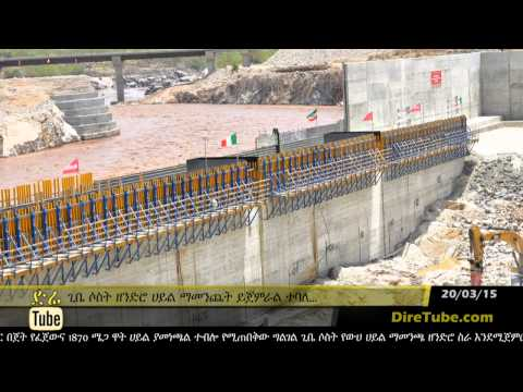 DireTube News - Ethiopia's Largest Hydro Plant to Produce Electricity This Year