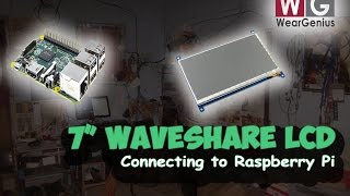 "WaveShare 7"" HDMI LCD with Pi  