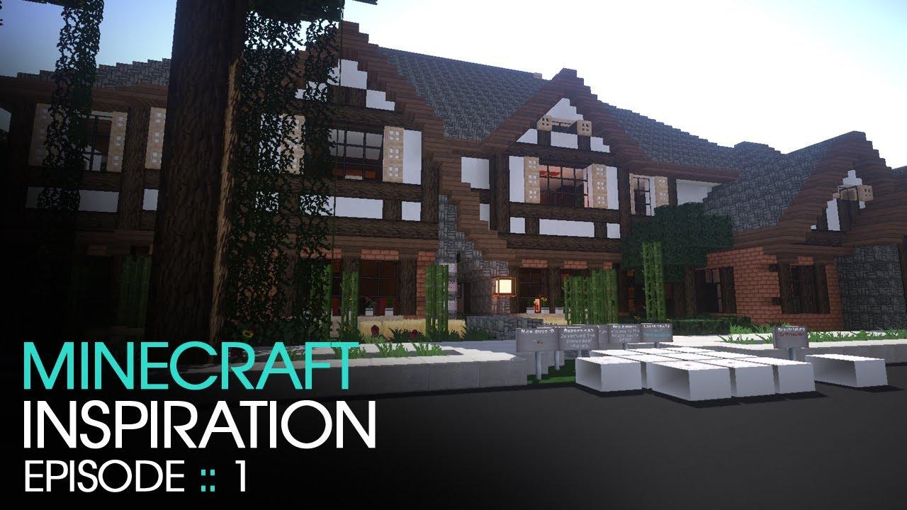 Minecraft Mansion 1 Inspiration W Keralis YouTube