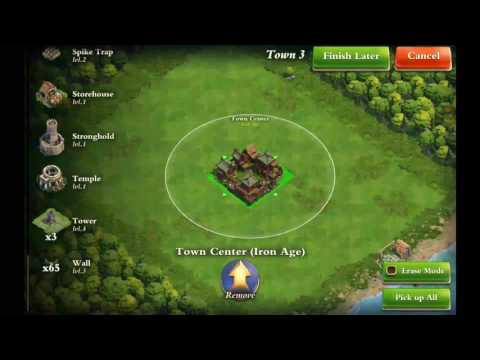 DomiNations: Iron Age TC and loot defense base