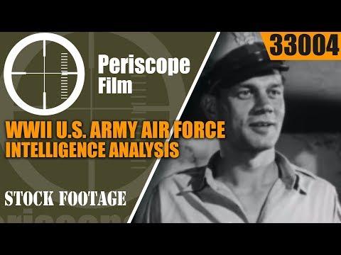 WWII U.S. ARMY AIR FORCE INTELLIGENCE ANALYSIS  SARDINIA INVASION  33004