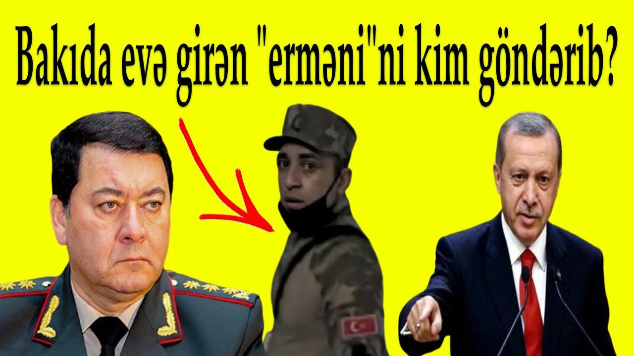 """Bakıda """"erməni"""" evlərə girdi - ŞOK FOTO"""