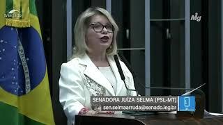 Senadora Juíza Selma fala sobre críticas a operações contra corrupção