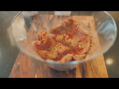 Buttermilk Fried Pork Chops & Homemade Coleslaw