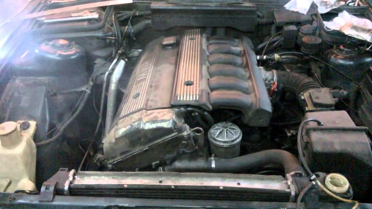 BMW e34 тюнинг м50 СТРОКЕР 3.0 ( 2 часть )