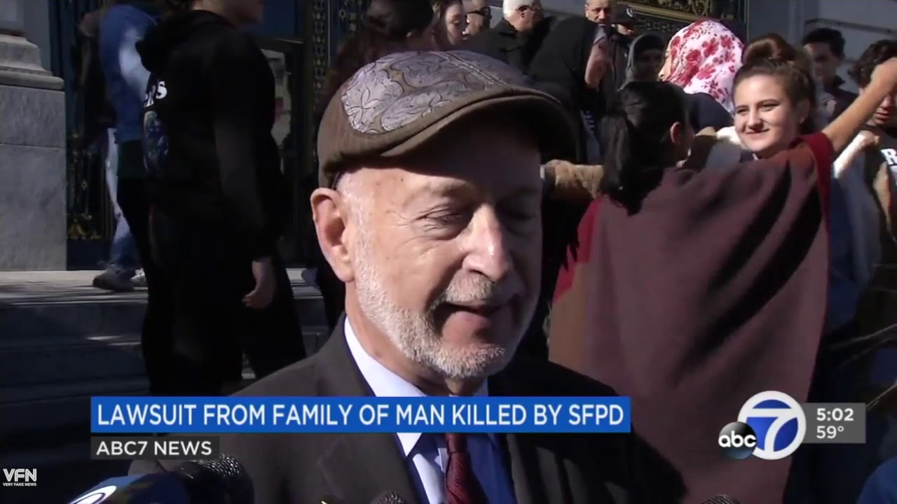 SFPD Sued for Excessive Force Against Man Who Shot Cops