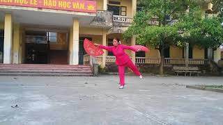 Thái cực song quạt- Con rồng Việt Nam
