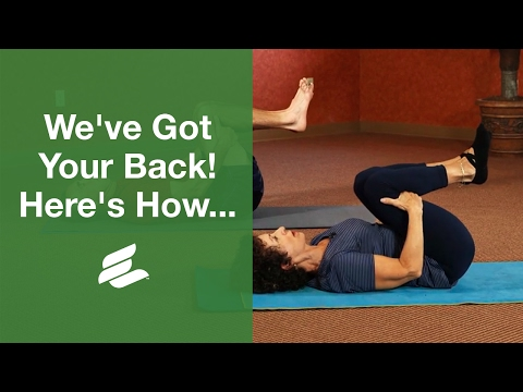 Yoga: Spine Stretches and Lower Back Poses for Seniors