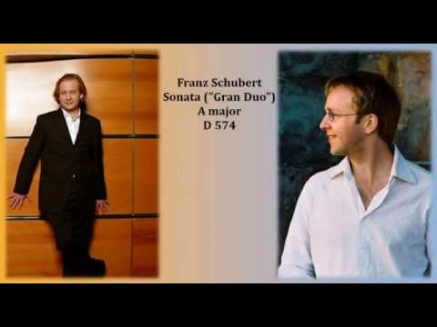 "Heime Müller & Tilman Krämer play Schubert Sonata (""Gran Duo"") in A major D 574"