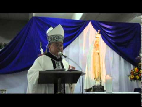 Archbishop Anthony Apuron on Our Lady of Fatima Visitation in Guam