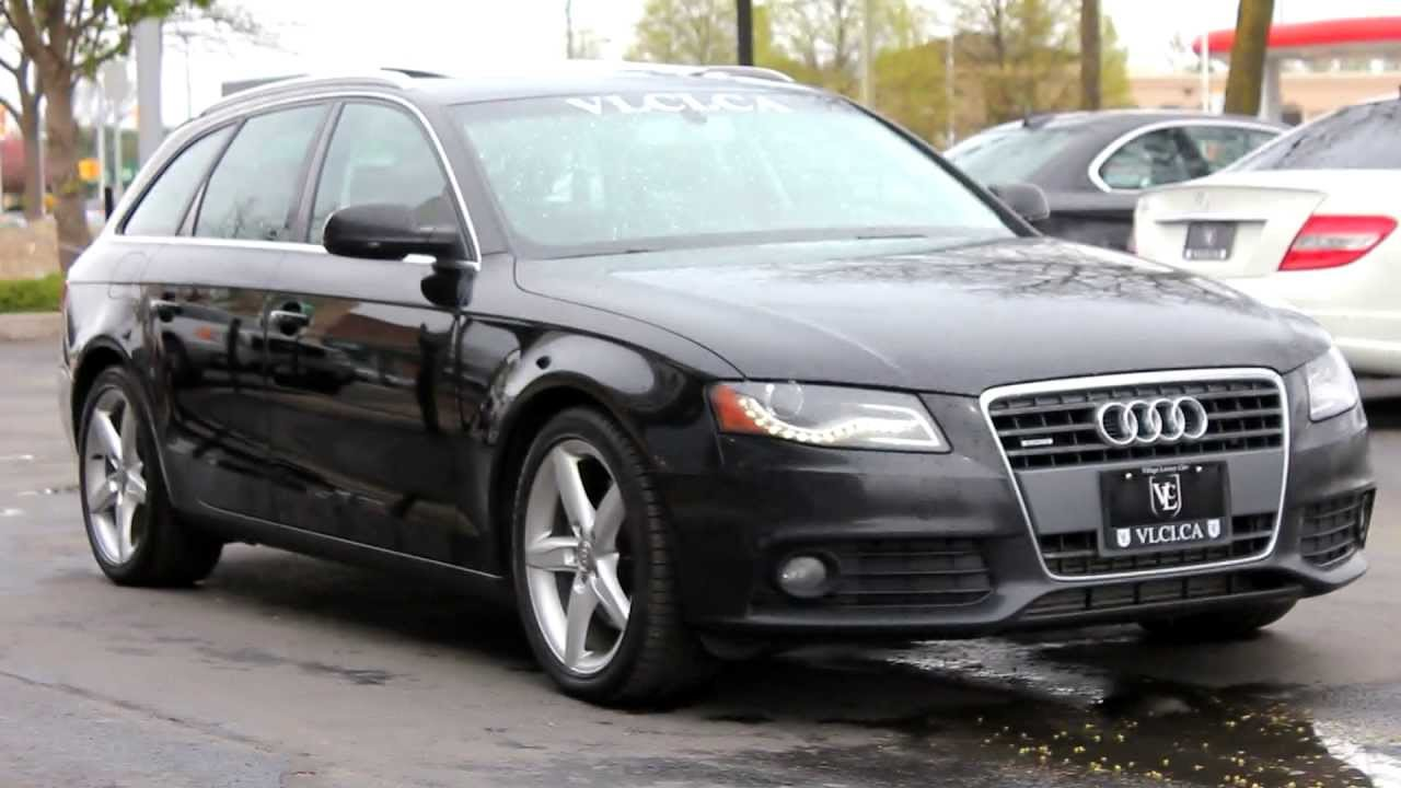 2010 audi a4 avant in review village luxury cars toronto youtube. Black Bedroom Furniture Sets. Home Design Ideas