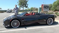 The Pagani Huayra Roadster Is an Insane $3 Million Supercar