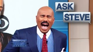 Ask Steve: Under this I'm a white woman || STEVE HARVEY