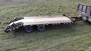 Buying and fixing a trailer: 15 ton pintle tag, electric brakes