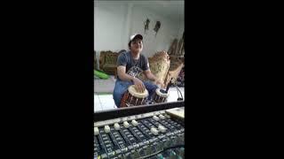 """Cover Kendang """"Dua Pilihan - yunita ababil"""" music by Ck( candra kirana)"""