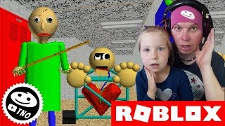 MOHAB GOES to SCHOOL-Baldi's Basics | Roblox | Daddy and Yohana CZ/SK