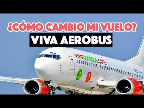 ¿Cómo cambio mi vuelo con VivaAerobús?