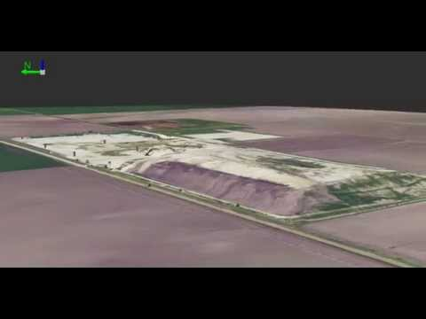 3D GIS Animation of a Municipal Solid Waste Landfill in Texas