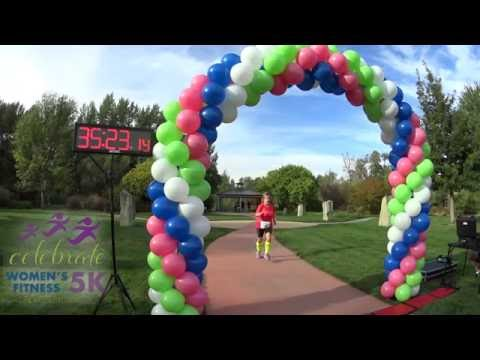 Celebrate Women's Fitness 5k - Finish Line 2016 - Eagle Idaho