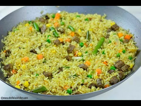 Nigerian Fried Rice Recipe - Chef Lola's Kitchen