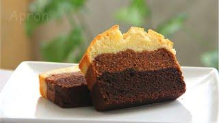 Three Layer Chocolate pound Cake 三层巧克力磅蛋糕~Apron