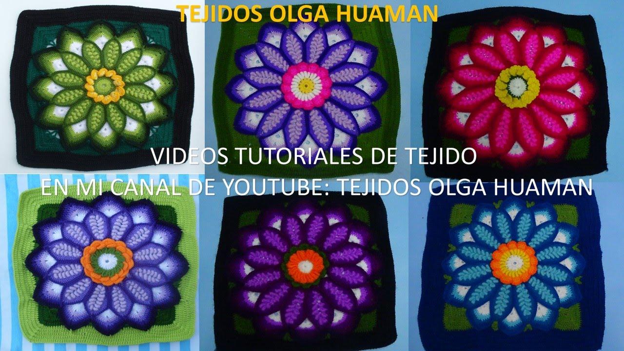 Tejidos a Crochet - YouTube