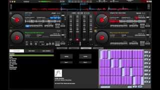 Learning Virtual DJ -- Making Beats Using Hot Cues, Adding Effects Brake, Beatgrid and reverb