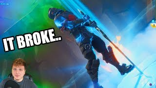 I BROKE my SUBSCRIBERS Deathrun in Fortnite Creative! (GONE WRONG)