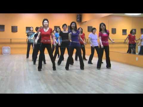 Easy Rumba - Line Dance (Dance & Teach in English & 中文)