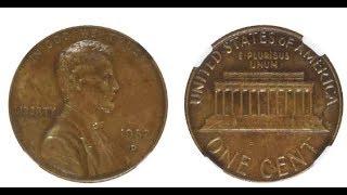 Second 1982 d small date Lincoln struck on copper/bronze found!