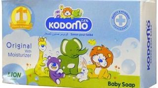 Детское мыло с увлажняющим кремом Baby soap Kodomo Lion Original with Moisturizer