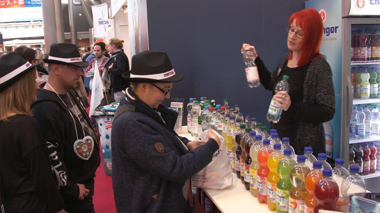 Vegane Getränke auf Gastro-Messe | 06.02.18 - YouTube