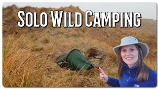 Solo Wild Camping Oฑ The Norfolk Coast.
