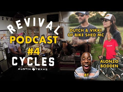 Alonzo Bodden & Bike Shed // The Handbuilt Podcast #4