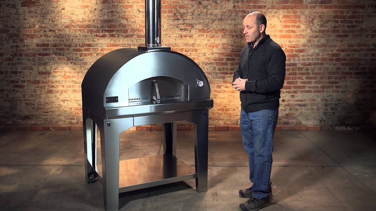 The Mangiafuoco Wood-Fired Pizza Oven | Fontana Forni - YouTube