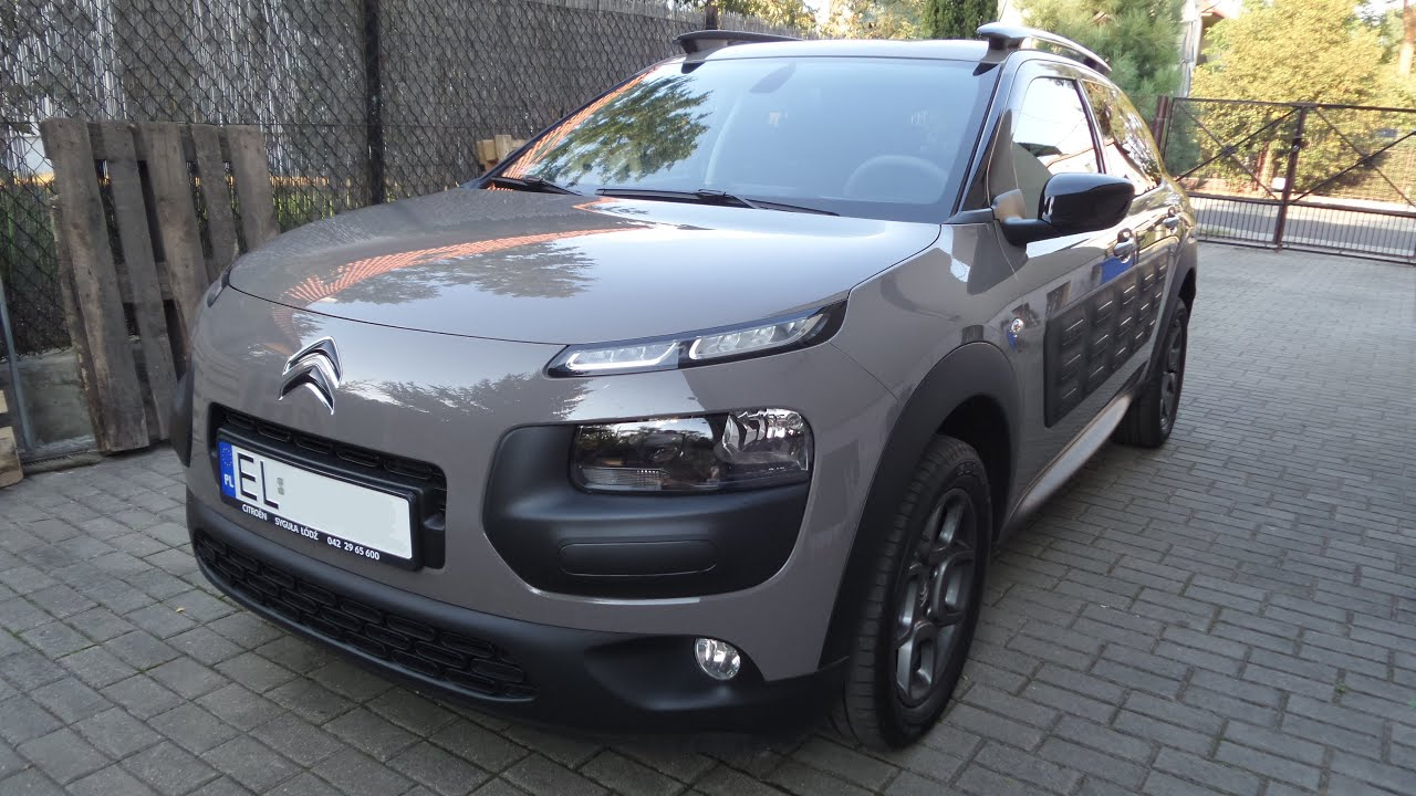 2015 citroen c4 cactus 1 2 puretech 82 km shine prezentacja unboxing wina youtube. Black Bedroom Furniture Sets. Home Design Ideas