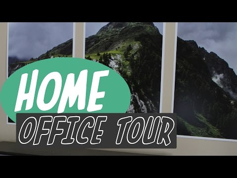 Video School Online: Home Office Tour