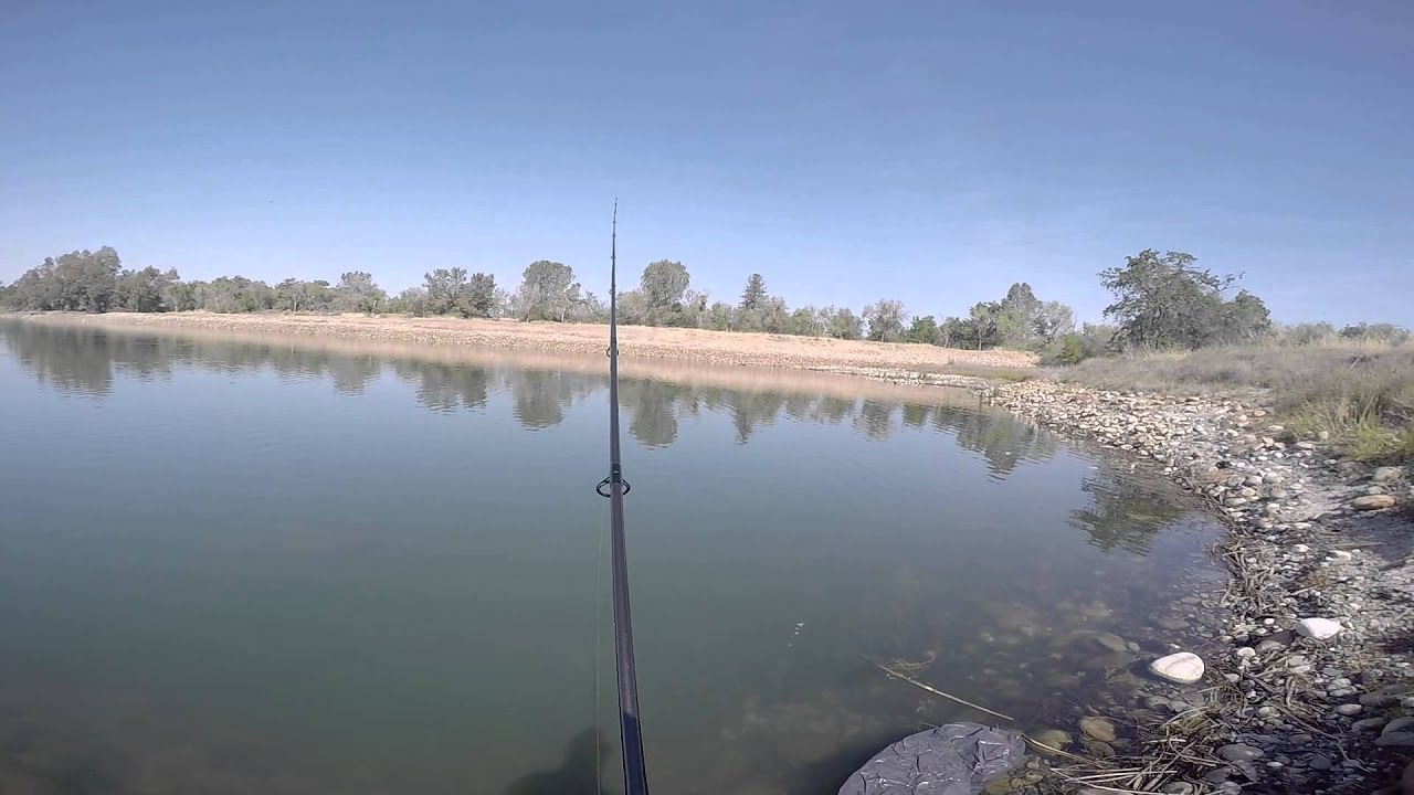 Bass bed fishing at avocado lake ca 4 16 15 youtube for Fresno fishing report 2017