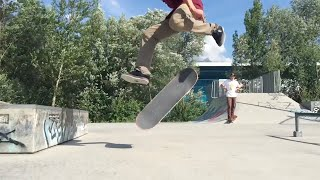 Slow-Mo Monday | Backfoot varial heelflip