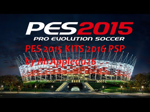 PES 2015 KITS 2016 PSP PATCH (Download links)
