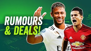 Coutinho to Man United, Neymar to Real Madrid, Isco to Man City ► Q+A Transfer Special #neymar #isco