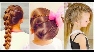 11 Cute Hairstyles for Little Girls ❀ Trendy Hairstyles for Kids 😍