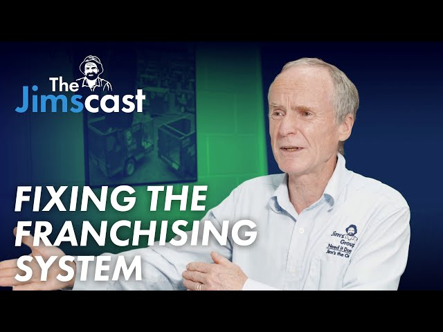 #JIMSCAST Full Episode - Jim Penman on what is wrong with franchising and how he would fix it