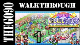 [Walkthrough] Pocket Arcade Story [#1] Build your very own Gaming Paradise